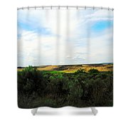 Columbia National Widlife Refuge Shower Curtain