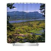 Columbia River Gorge - Oregon Shower Curtain