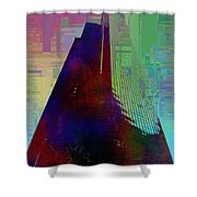 Columbia Tower Cubed 1 Shower Curtain