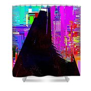 Columbia Tower Cubed 2 Shower Curtain