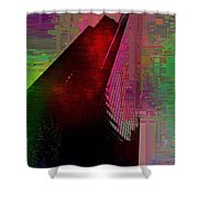 Columbia Tower Cubed 3 Shower Curtain