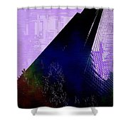 Columbia Tower Cubed 4 Shower Curtain