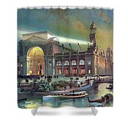 Columbian Expo, Electricity Building Shower Curtain