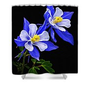Columbine Duet Shower Curtain