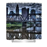 Columbus Ohio Downtown IIi Shower Curtain