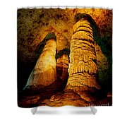 Dome And  Column Shower Curtain