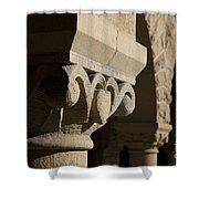 Column Detail Stanford California Shower Curtain