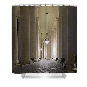 Column Shower Curtain