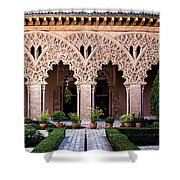 Columns And Arches No4 Shower Curtain