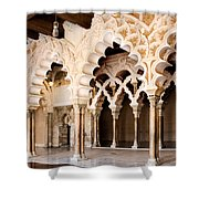 Columns And Arches No1 Shower Curtain