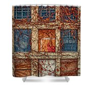 Columns And Rows Shower Curtain