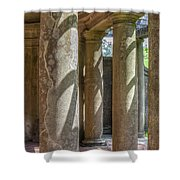 Columns At Cranes Shower Curtain