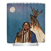 Comanche Moon Shower Curtain