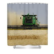 Combine Working A Field On The Shower Curtain