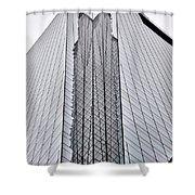 Comcast Center Corner -  Philadelphia  Shower Curtain