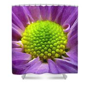 Come Closer - Digital Painting Effect Shower Curtain