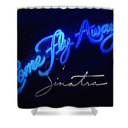 Come Fly Away On Broadway Shower Curtain