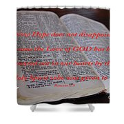 Come Holy Spirit Shower Curtain