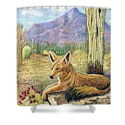 Come One Step Closer Shower Curtain