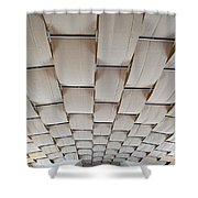 Come Sail Away Ceiling Shower Curtain