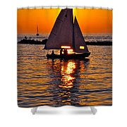 Come Sail Away With Me Shower Curtain