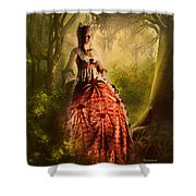Come To Me In The Moonlight Shower Curtain
