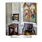 Come Unto Me Shower Curtain by Adrian Evans