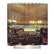 Comerica Night Game 2 Shower Curtain
