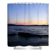 Comfortably Numb Shower Curtain