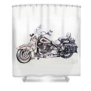 Comfy Cruiser Shower Curtain
