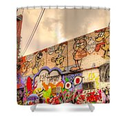 Comical Relief Shower Curtain