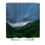 Comin Round The Mountain Shower Curtain