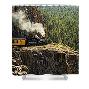 Coming Around The Bend Shower Curtain