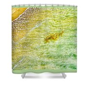 Coming Ashore Shower Curtain