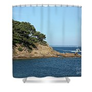 Coming Back Shower Curtain