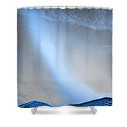 Coming Down To Earth  Shower Curtain