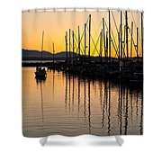 Coming In Shower Curtain by Mike Reid