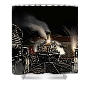 Coming In Tonight Shower Curtain