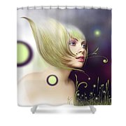 Coming Of Spring - Equinoxes Shower Curtain