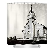 Coming Out Of The Mist Shower Curtain by Marcia Colelli