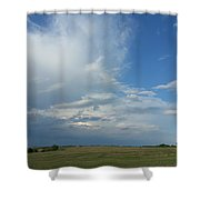 Coming Weather Shower Curtain