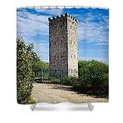 Commanche Park Tower Shower Curtain