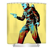 Commando Cody 3 Shower Curtain