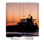Commerce Shower Curtain
