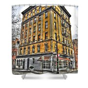 Commerce Street Architecture Shower Curtain