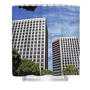 Commercial Office Building Shower Curtain