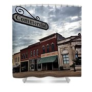 Commercial St Shower Curtain