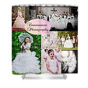 Communion Photography Shower Curtain