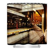 Commuter Life Shower Curtain