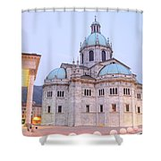 Como Cathedral Shower Curtain